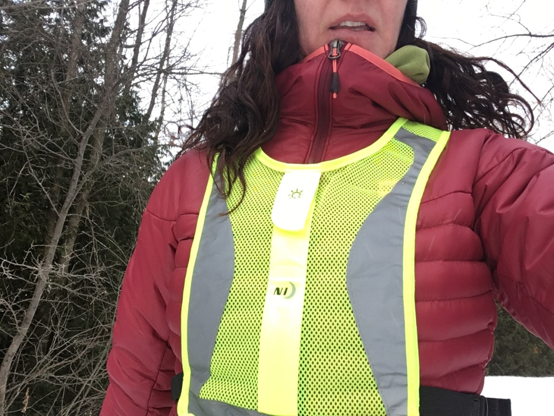 high visibility & reflective in the day light